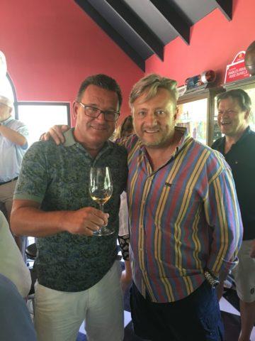 Min vän Marc Kent på Boekenhoutskloof