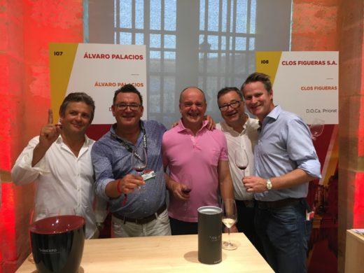 """Besök hos Álvaro Palacios under """"Spanienkvällen"""" på Vinexpo med Hans Åström, Ulf Wagner och Stephen Ludlam"""