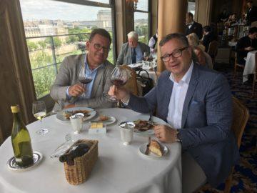 Lunch med Ulf Wagner på Restaurant La Tour d´Argent i Paris
