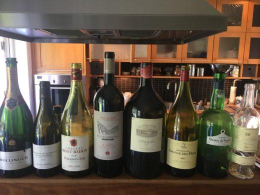 Trevliga viner på min födelsedag fredagen den 14 juli