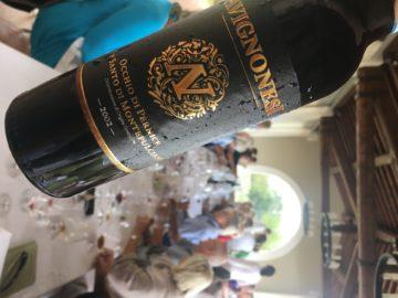 Toscana´s mest extrema Vin Santo njöt vi av på lunchen hos Avignonesi i Montepulciano