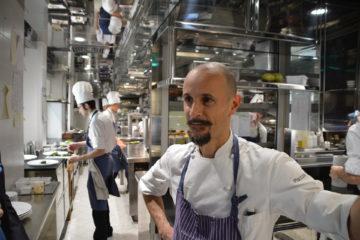Enrico Crippa på trestjärniga Piazza Duomo i Alba skall besökas på torsdag lunch