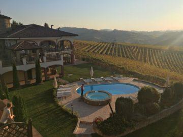 Vi bodde på trevliga Tota Virginia i Serralunga d´Alba under vår vecka i Piemonte