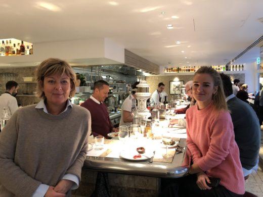 Ett av mina hetaste gastronomiska tips när ni är i London: Barrafina i Soho där jag avnjöt en fantastisk lunch med Lis och Frida