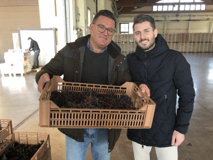 Francesco Allegrini stos som fantastisk värd under en dag på vår resa