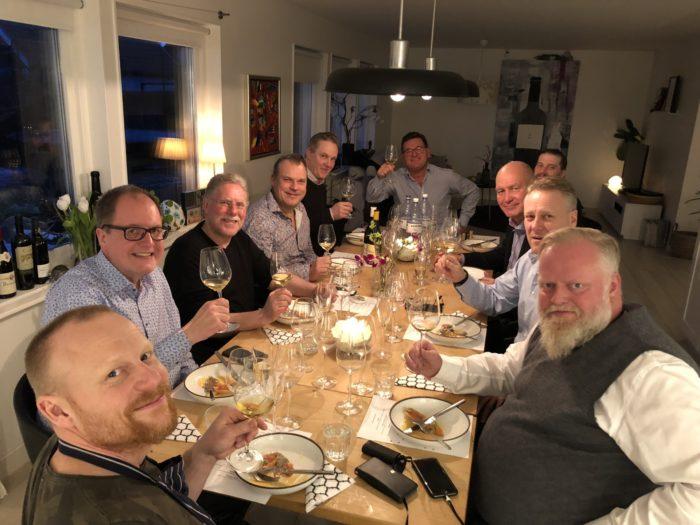 Gastronauterna hos Kalle Bengtsson hemma i Jonstorp