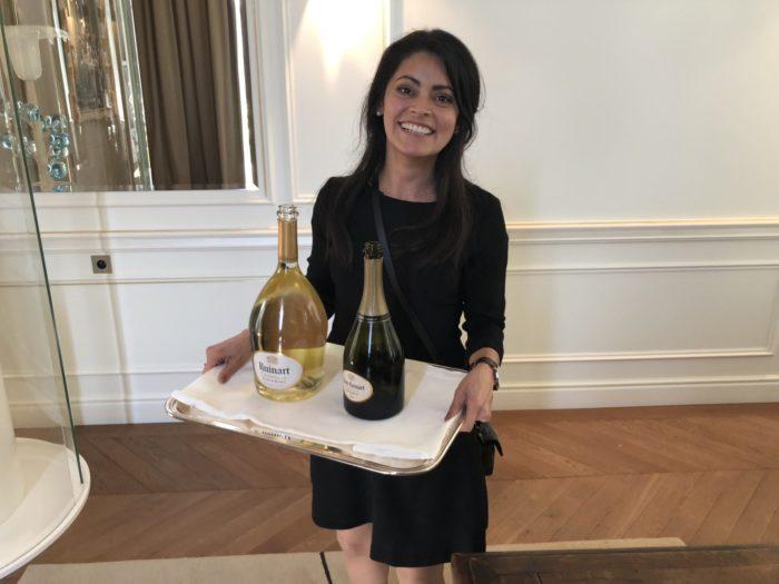 En fin provning på Champagnes äldsta vinhus Ruinart med fokus på Blanc de blancs