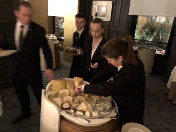 Ännu en strålande middag på trestjärniga L´Assiette Champenoise