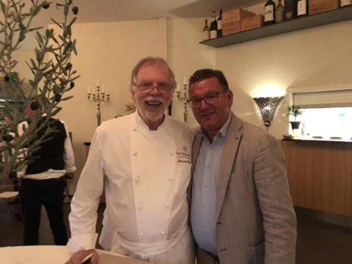 Tillsammans med den tvåstjärniga kocken Jean André Charial från Oustau de Baumaniére i Le Baux de Provence som gästspelade på Fulltofta slott