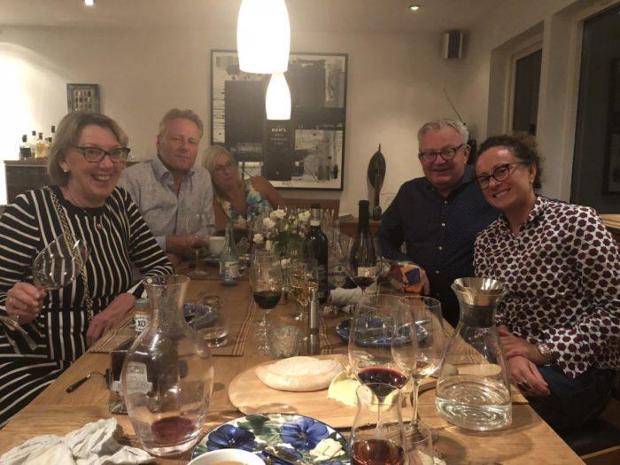 Efter den trevliga vinmakarmiddagen på Gastro i fredags bjöd jag hem Silvia Altare från Piemonte samt vännerna Wahlström och Gustavsson´s på en trevlig middag