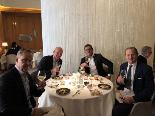 Fin trestjärnig, prisvärd lunch hos Alain Ducasse på Dorchester Hotel i London