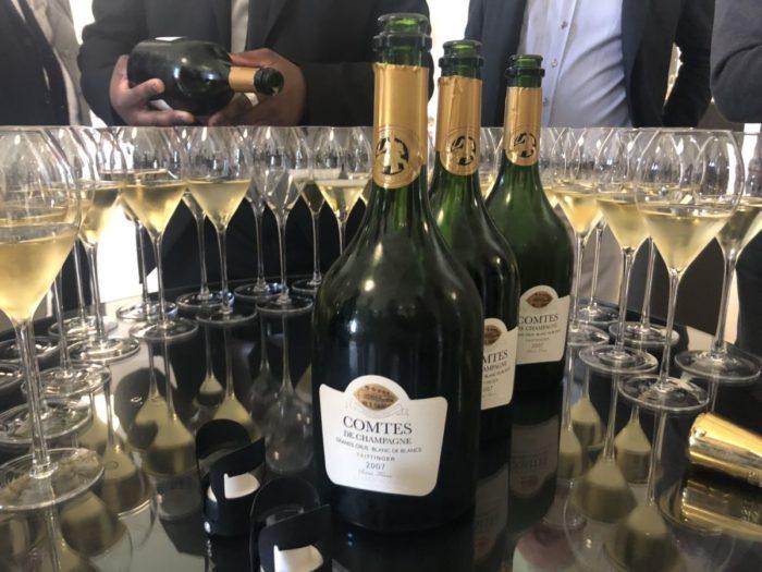 En av mina stora favoriter på resan var 2007 Comtes De Champagne hos Taittinger