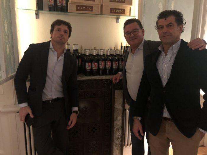 WinaMakersDinner på Gastro med mina vänner Diego Gorosito och Oscar Garrote i vårt projekt Éxzito