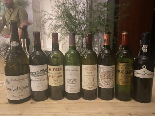 Väldigt trevliga viner då Kaj Nilsson var värd för Gastronauterna